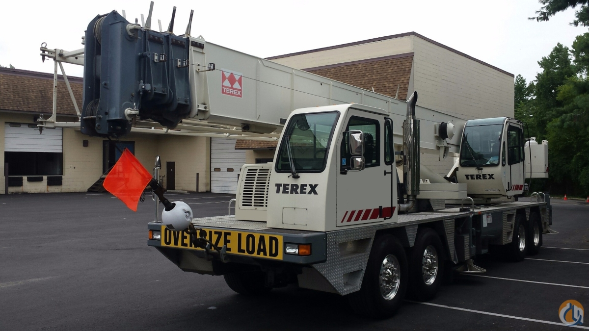 2002 TEREX T560 Crane for Sale in Baltimore Maryland on CraneNetwork.com