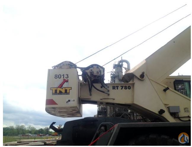 2008 Terex RT780 Crane for Sale in Saint James Louisiana on CraneNetwork.com