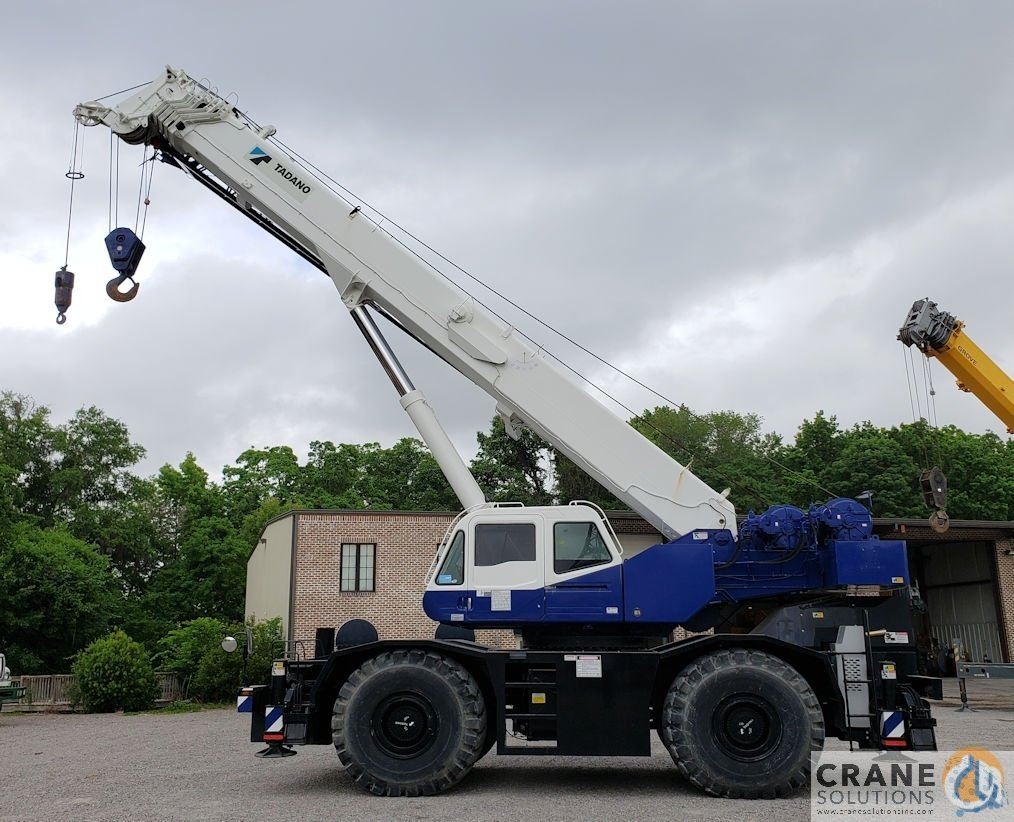 2008 Tadano GR600XL-1 Crane for Sale in Houston Texas on CraneNetwork.com