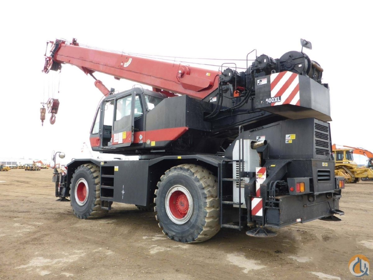 2008 TADANO GR-500XL Crane for Sale or Rent in Edmonton Alberta on CraneNetwork.com
