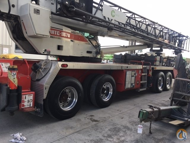 2001 Link-Belt HTC-8670 Crane for Sale in Concord California on CraneNetwork.com