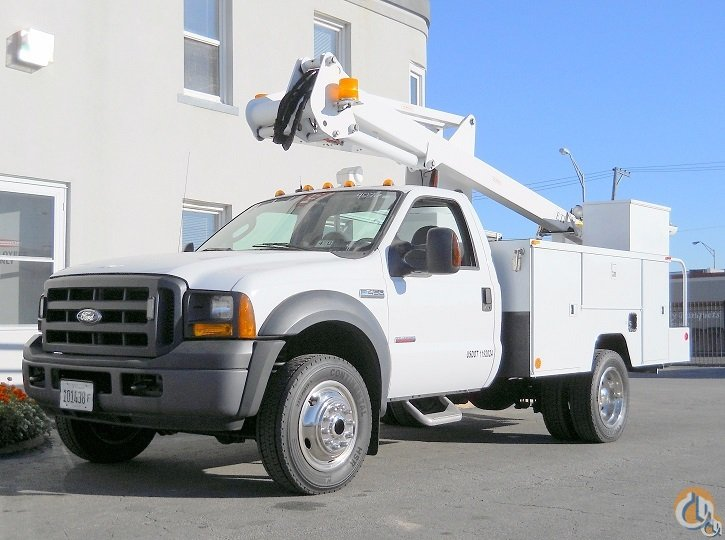 ETI ETC355NT Aerial Bucket Truck Crane for Sale in Lyons Illinois on CraneNetworkcom
