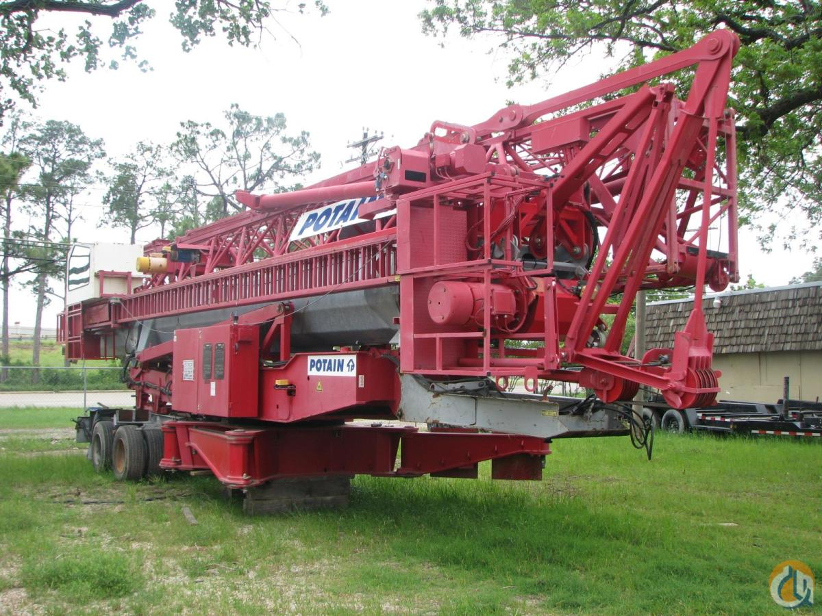 2008 POTAIN HDT80 Crane for Sale in Lewisville Texas on CraneNetwork.com