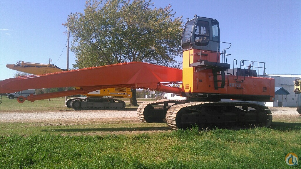 Hydraulic Material Handler Crane for Sale in Hennepin Illinois on CraneNetworkcom