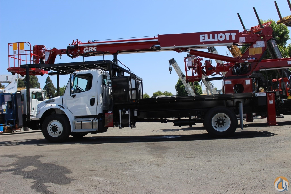 2018 ELLIOTT G85F Crane for Sale in Santa Ana California on CraneNetworkcom
