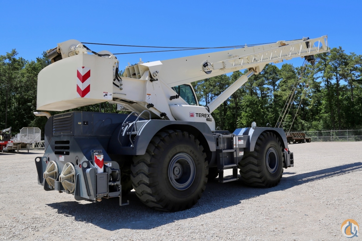 Lightly used Terex RT 780-1 rough terrain crane Crane for Sale in Houston Texas on CraneNetworkcom