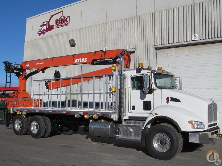 NEW  ATLAS 300  63 FORM CAGE HANDLER WITH 22 ALUM DECK ON A NEW  2016 KW T440 TA  390 HP  AUTO 10 SPD Crane for Sale in Toronto Ontario on CraneNetwork.com