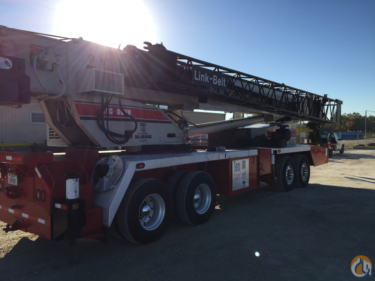 2000 Linkbelt HTC 8670LB Crane for Sale in Baytown Texas on CraneNetworkcom