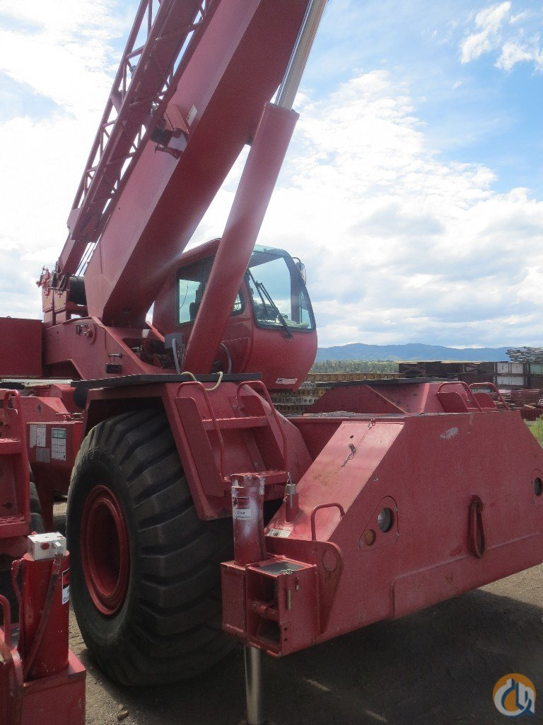 2003 Terex RT555 Rough Terrain CBJ701 Crane for Sale on CraneNetwork.com
