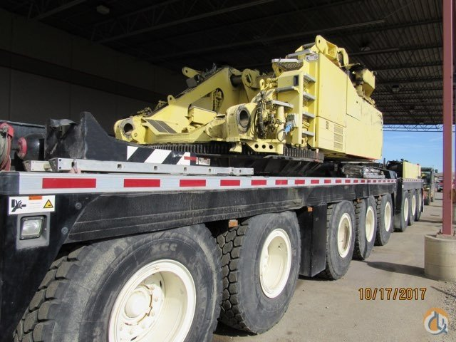 2011 LIEBHERR LTM 1500 8.1  SHORT BOOM 164 - LONG BOOM 276 -  FIXED JIB 184 -  LUFFING JIB 299 Crane for Sale on CraneNetwork.com