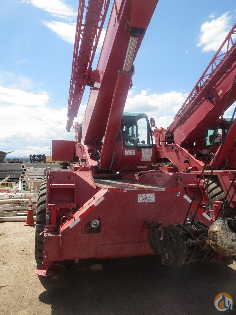 2001 Terex RT555 Rough Terrain Crane for Sale on CraneNetwork.com