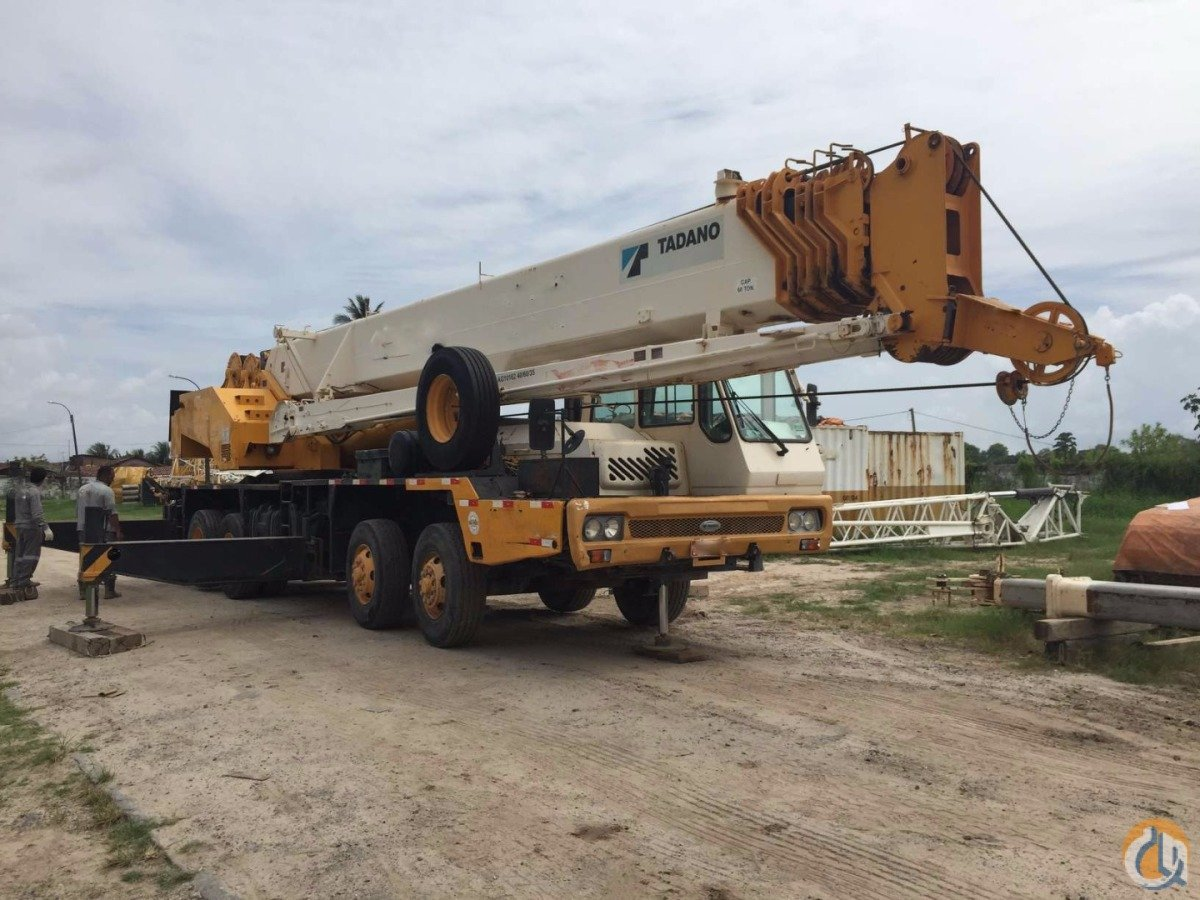 Sold TADANO GT550EX . WE HAVE 3 SIMILAR UNITS AVILABLE. Crane for  on CraneNetwork.com