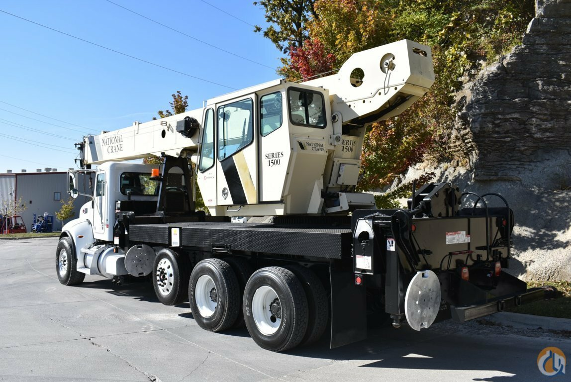 2009 National 1512 Mounted on a Peterbilt 348 8x4 Crane for Sale in Kansas City Missouri on CraneNetwork.com