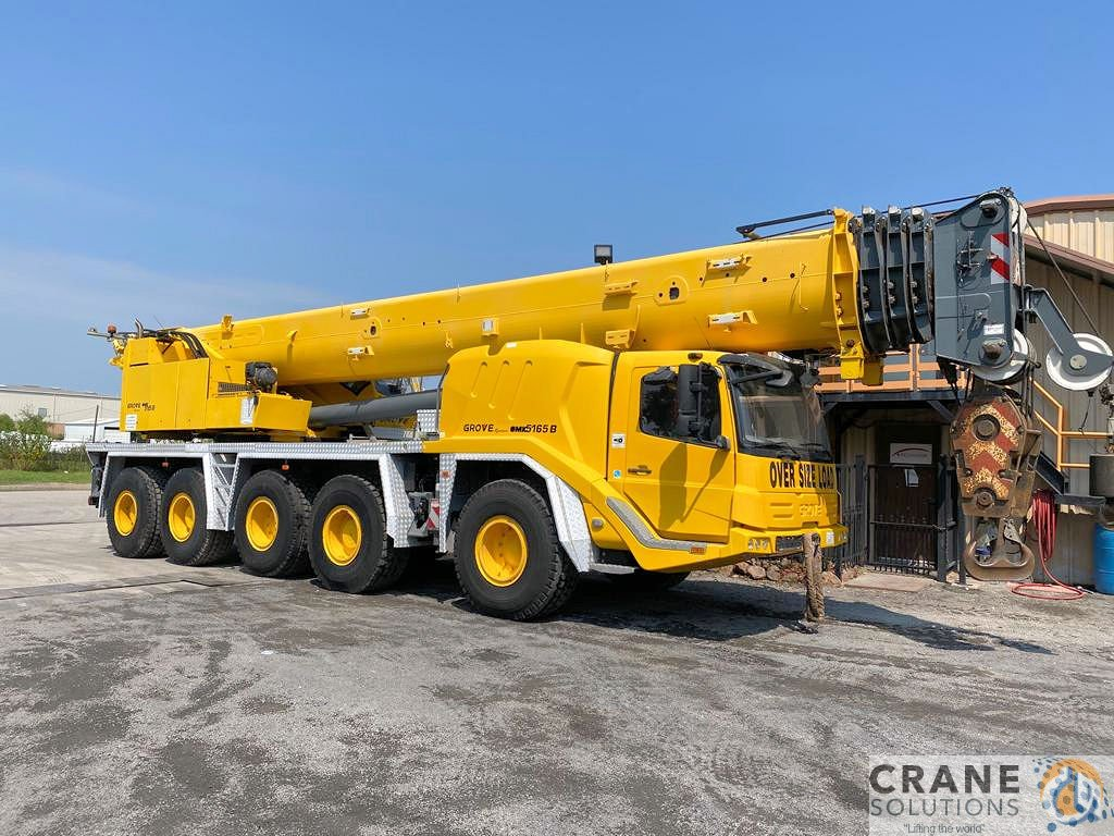 2012 Grove GMK 5165B Crane for Sale or Rent in Houston Texas on CraneNetwork.com