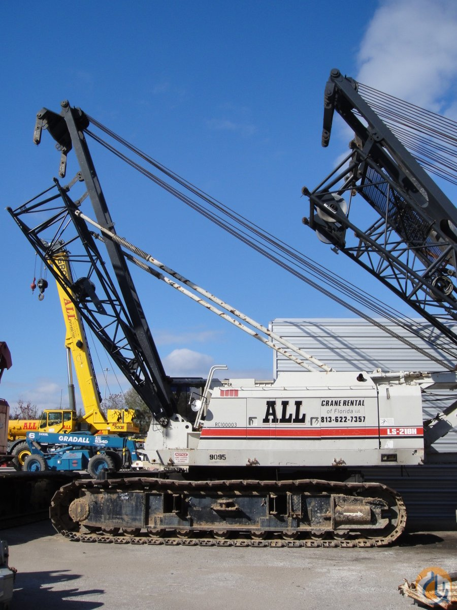 Link-Belt LS218HII For Sale Crane for Sale in Orlando Florida on CraneNetworkcom