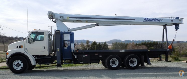 07 Manitex 26101C Crane for Sale or Rent in Sacramento California on CraneNetwork.com