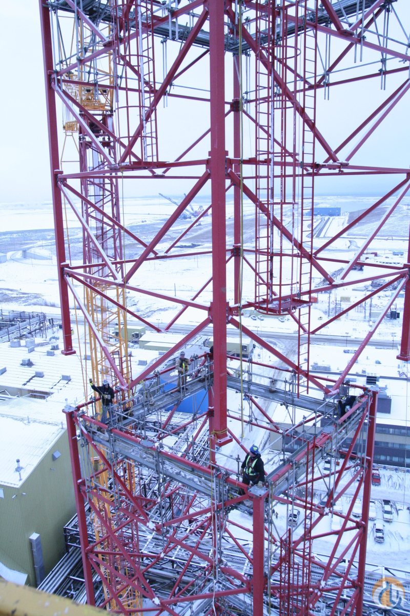 KROLL K-10000 TOWER CRANE FOR RENTSALE Crane for Sale or Rent in Fort McMurray Alberta on CraneNetwork.com