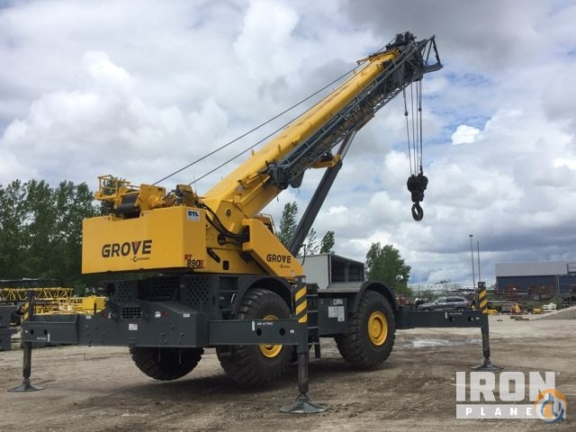 Sold 2014 Grove RT890E Rough Terrain Crane Crane for  in Grimes Iowa on CraneNetwork.com