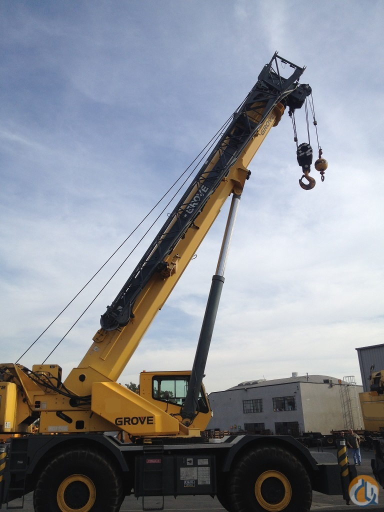 2004 Grove RT890E Rough Terrain Crane for Sale on CraneNetwork.com