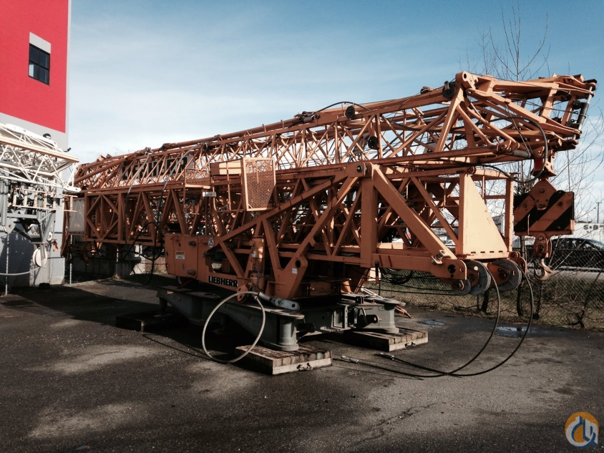 Liebherr 71 K 2003 Crane for Sale or Rent in Abbotsford British Columbia on CraneNetworkcom