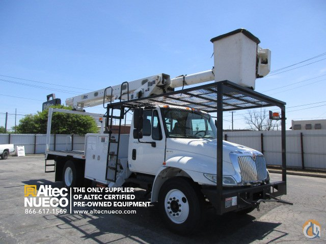 2012 ALTEC LRV56 Crane for Sale in Birmingham Alabama on CraneNetworkcom