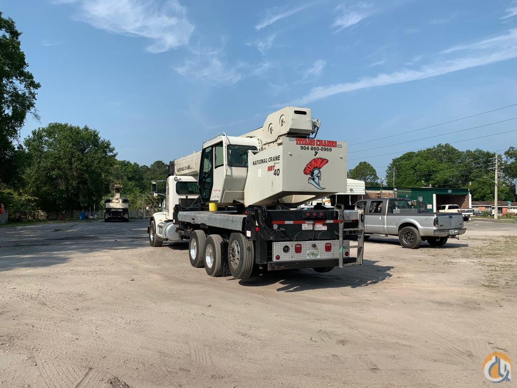 Sold 2014 National NBT40 Crane for  in St. Augustine Florida on CraneNetwork.com