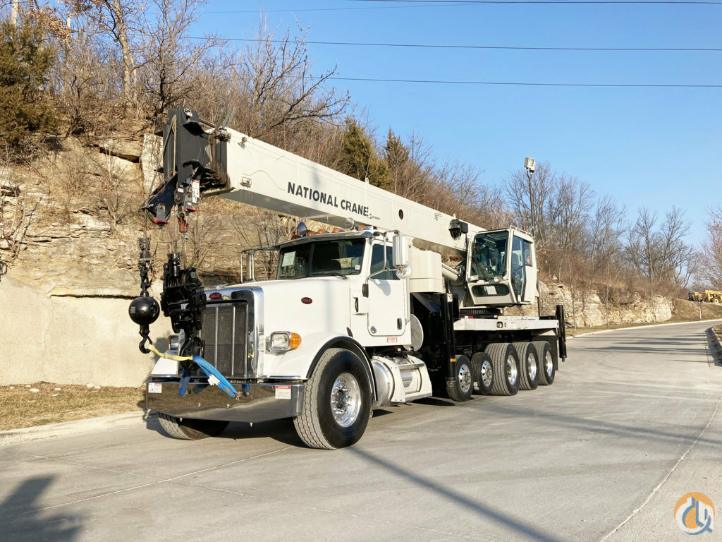 2013 National NBT55-128 Mounted on a Peterbilt Crane for Sale in Kansas City Missouri on CraneNetwork.com