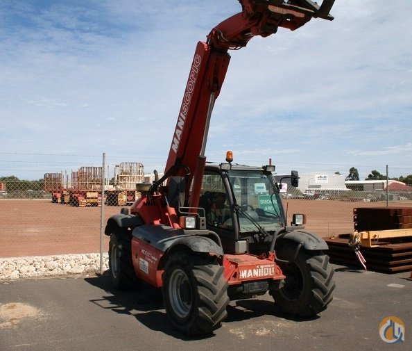 Sold 2005 Manitou MLT627T Compact MU Series BE2 4 x 4