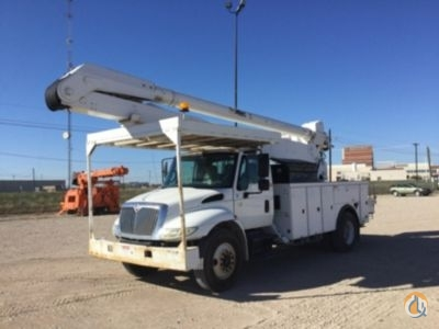 Sold 2003 Altec AA755L Crane for  in Waxahachie Texas on CraneNetwork.com