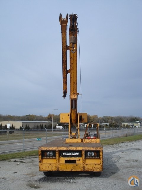 2001 Broderson IC80-3F Carry Deck Crane Crane for Sale or Rent in Hazel Crest Illinois on CraneNetwork.com