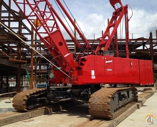 2008 MANITOWOC 12000 Crane for Sale in Bridgeview Illinois on CraneNetwork.com