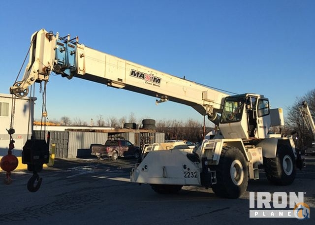 Sold 1999 Terex RT335 Rough Terrain Crane Crane for  in West Mifflin Pennsylvania on CraneNetwork.com