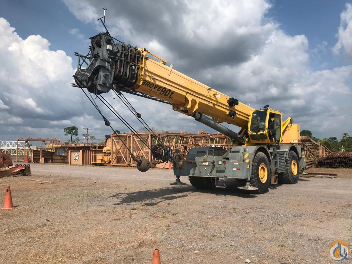 2012 GROVE RT890E-4 ROUGH TERRAIN CRANE FOR SALE Crane for Sale on CraneNetwork.com