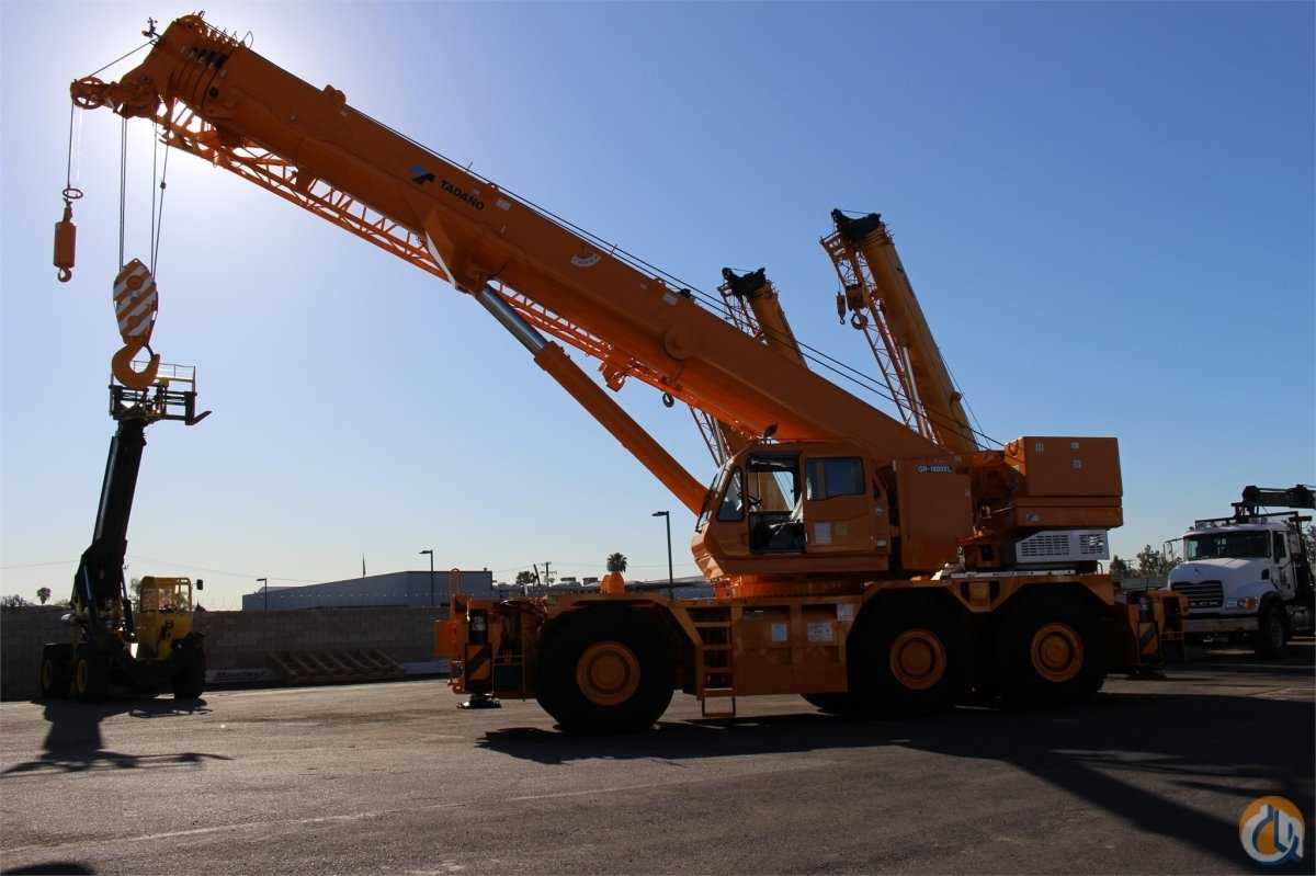 2016 TADANO GR1600XL-2 Crane for Sale or Rent in Santa Ana California on CraneNetworkcom