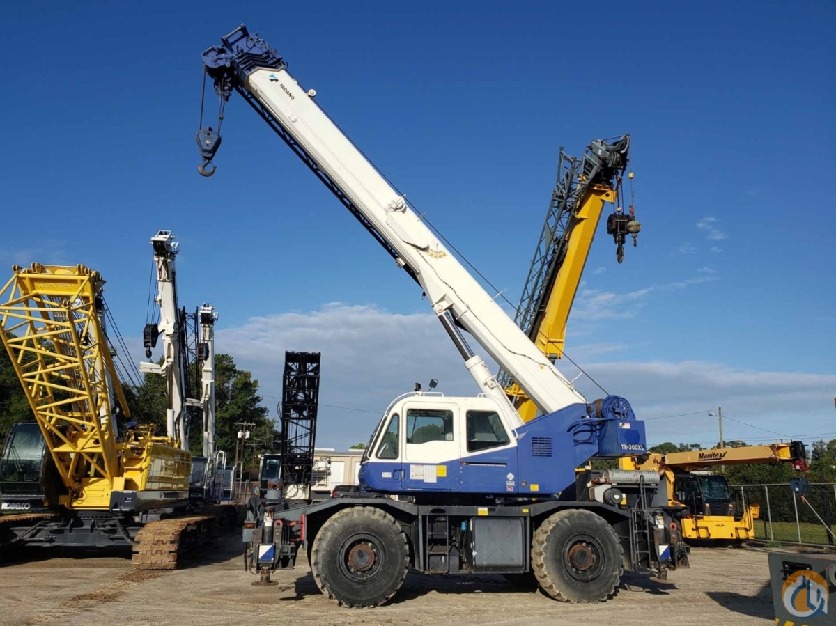 2006 TADANO TR-300XL-4 Crane for Sale or Rent in Savannah Georgia on CraneNetwork.com
