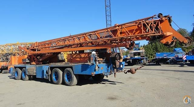 50-Ton Link-Belt Crane for Sale in Surrey British Columbia on CraneNetworkcom