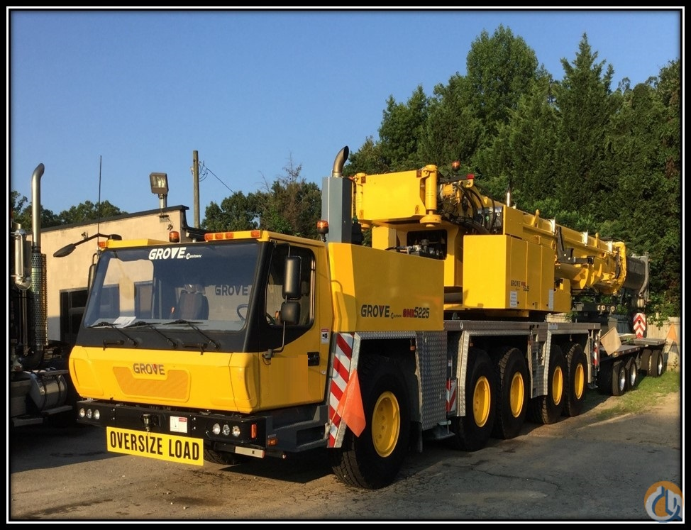 2013 Grove GMK5225 Crane for Sale on CraneNetwork.com