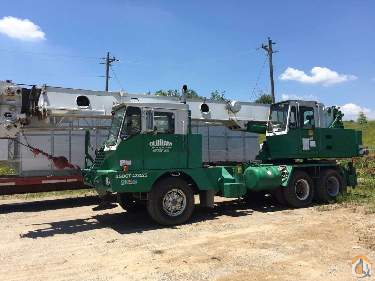 Sold Owner retiring 28-ton crane for sale email at  cranesriggingoldhamcranenet Crane for  in Memphis Tennessee on CraneNetworkcom