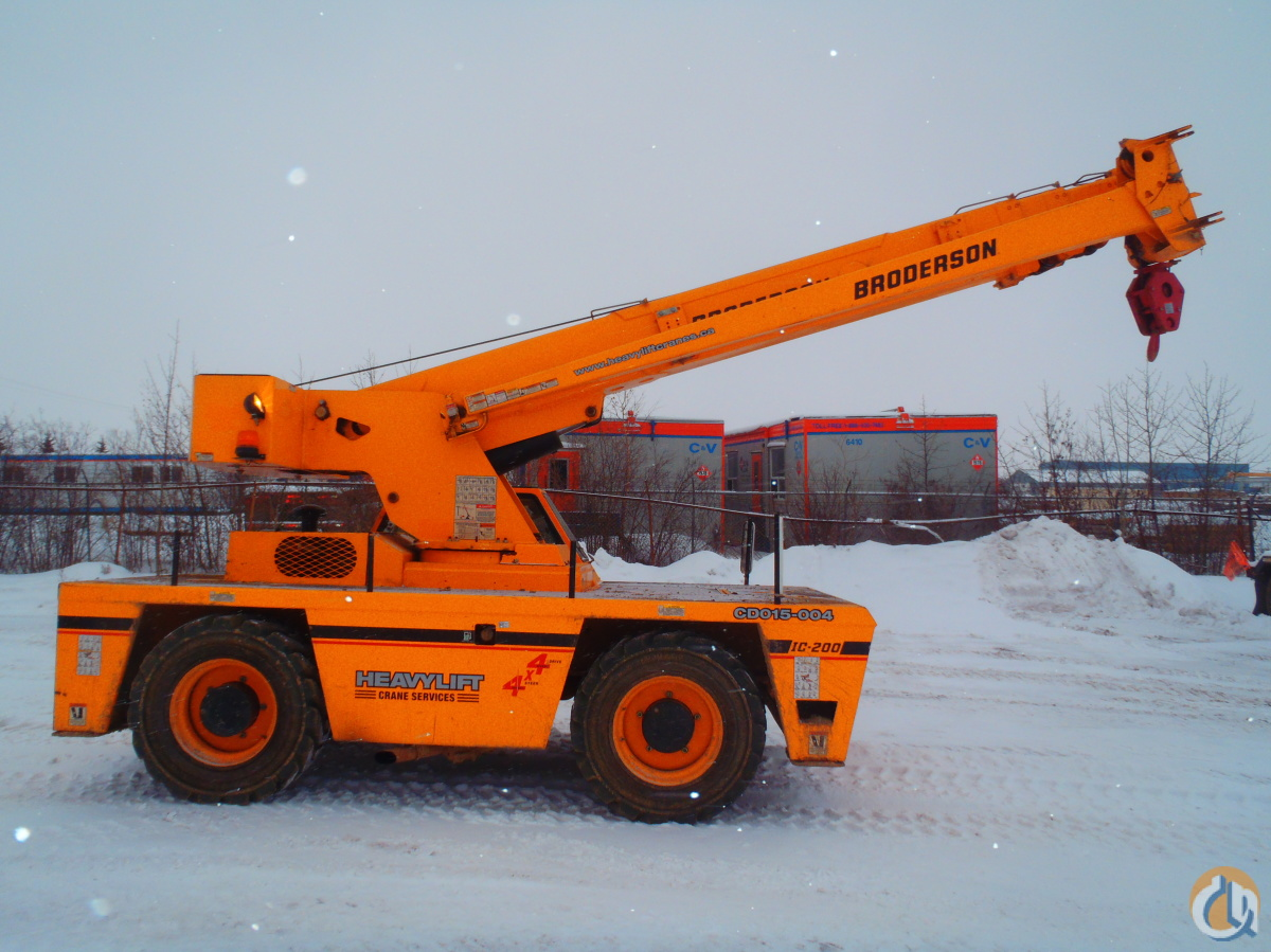 2012 Broderson IC-200-3G Crane for Sale in Nisku Alberta on CraneNetwork.com