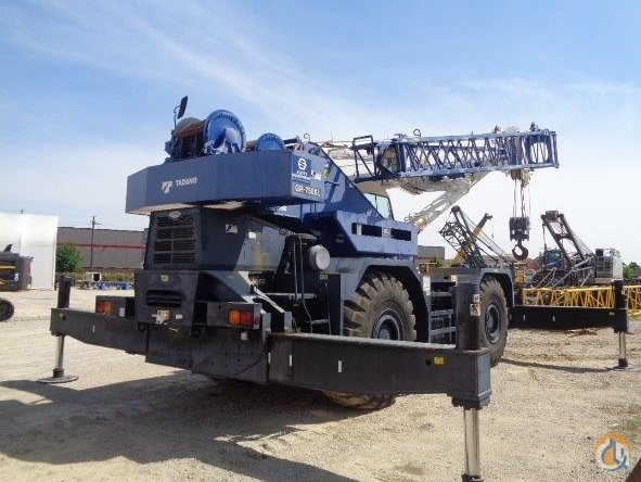2013 TADANO GR-750XL-2 Crane for Sale or Rent in Baton Rouge Louisiana on CraneNetwork.com