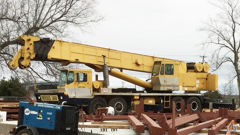 1981 Grove TMS865 65 Ton Hydraulic Truck Crane CBJ744 Crane for Sale in Arkansas City Kansas on CraneNetwork.com