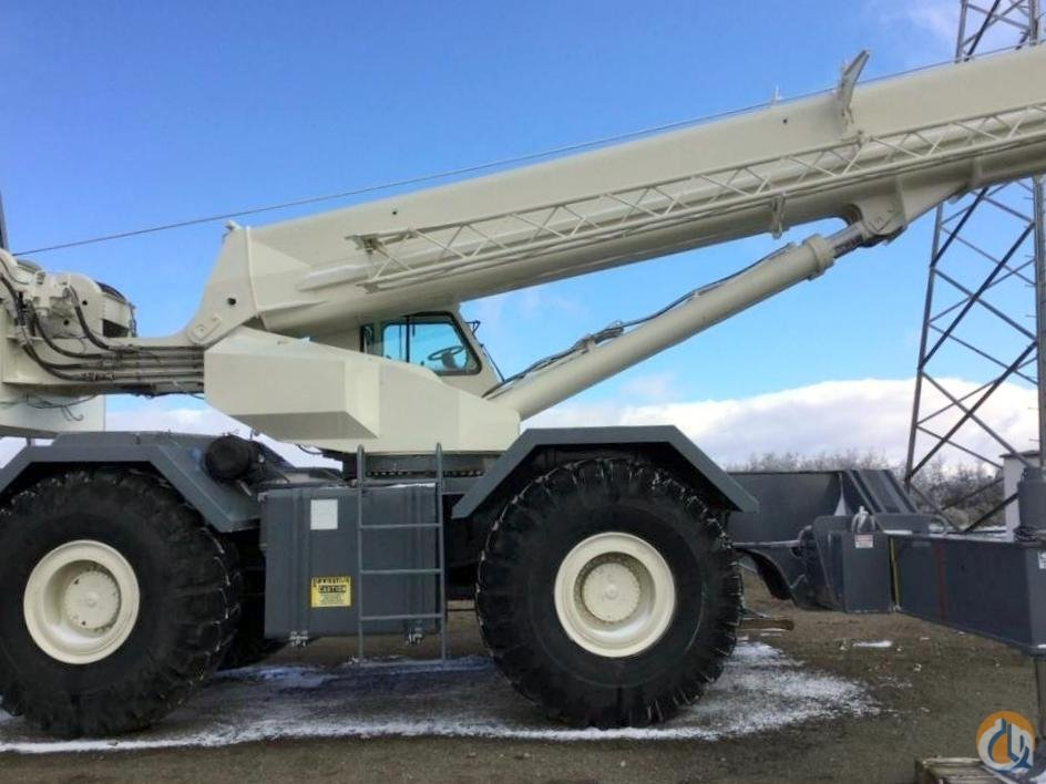 2001 Terex RT1100 Rough Terrain Crane CBJ773 Crane for Sale on CraneNetwork.com