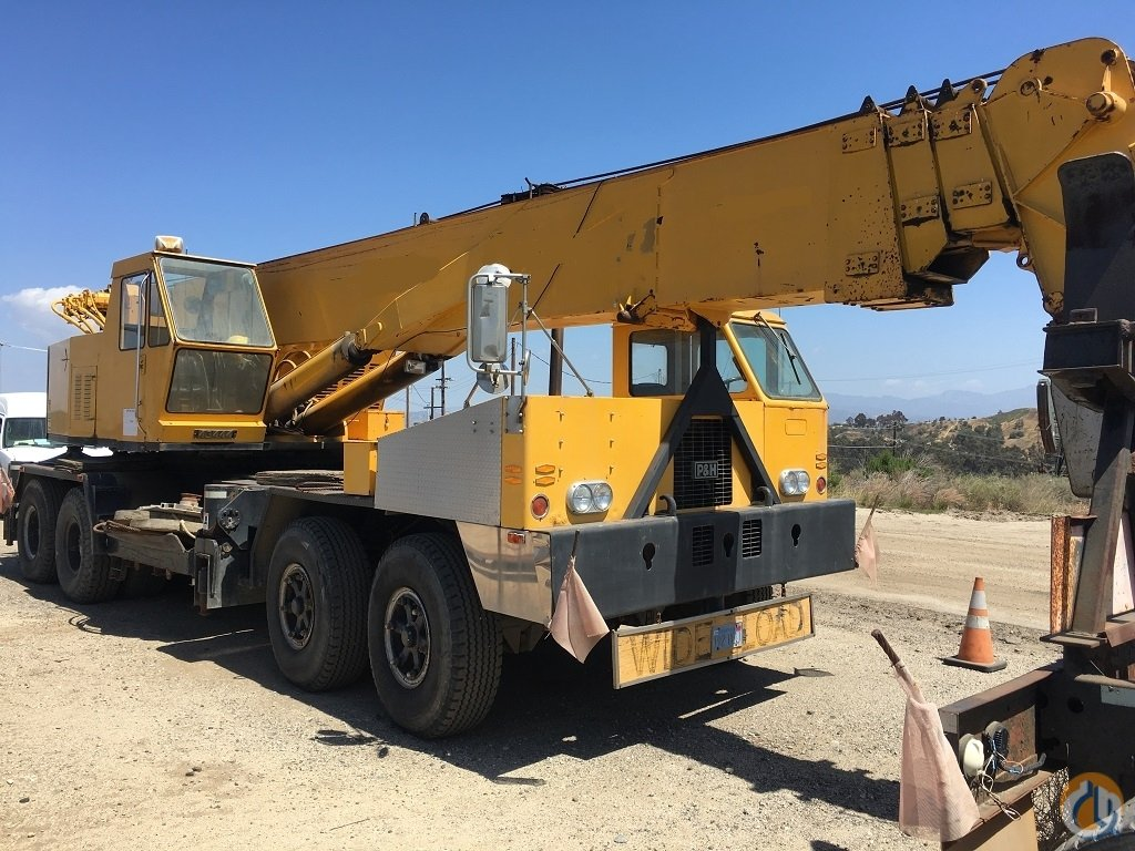 1977 PH T750 Hydraulic Truck Crane for Sale in Los Angeles California on CraneNetwork.com