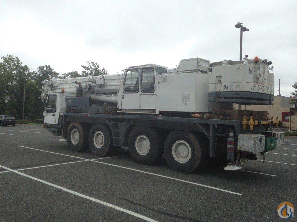 Sold 1992 Krupp Grove GMK KMK 4100 Crane for  on CraneNetwork.com