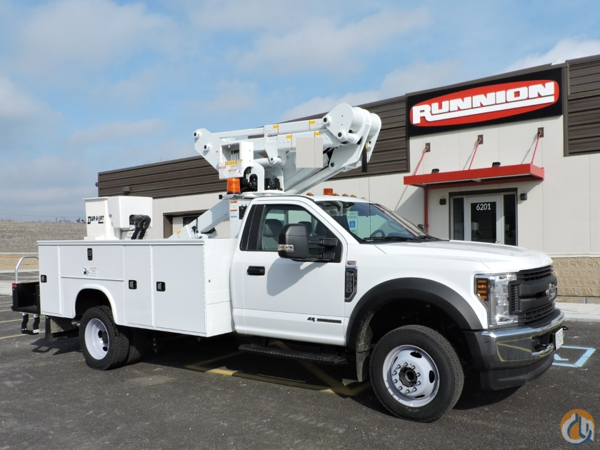 DTAX-39 mounted on 2019 Ford F550 4x4 Crane for Sale in Hodgkins Illinois on CraneNetwork.com