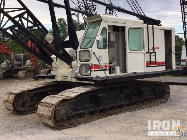Sold 1976 Link-Belt LS-318 Lattice-Boom Crawler Crane Crane for  in Louisville Kentucky on CraneNetwork.com