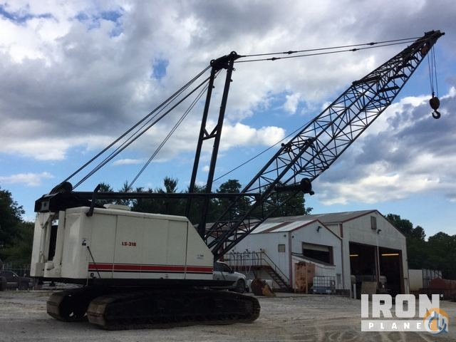 Sold 1976 Link-Belt LS-318 Lattice-Boom Crawler Crane Crane for  in Louisville Kentucky on CraneNetworkcom
