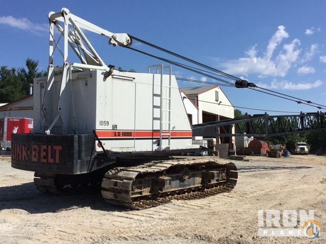 Sold 1992 Link-Belt LS108D Lattice-Boom Crawler Crane Crane for  in Louisville Kentucky on CraneNetworkcom