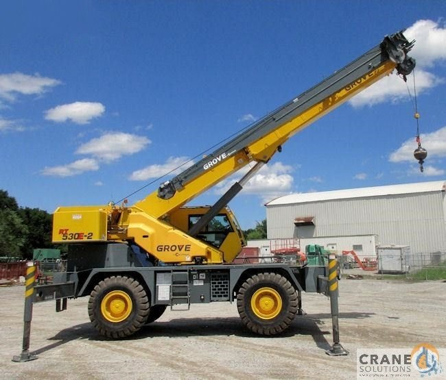 2012 Grove RT530E-2 Crane for Sale or Rent in Savannah Georgia on CraneNetwork.com