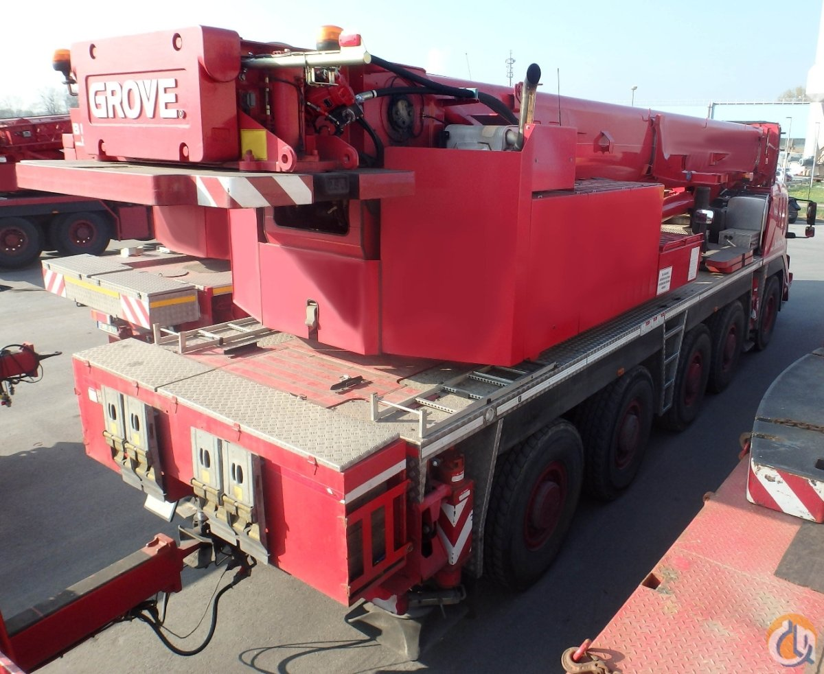 Grove GMK 5130-2  32m hydr jib Crane for Sale on CraneNetworkcom